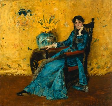 Dora Wheeler | William Merritt Chase | oil painting