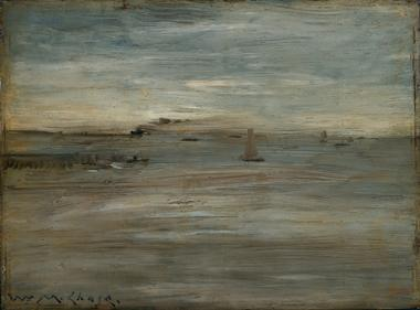 Seascape | William Merritt Chase | oil painting