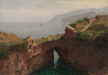 Natural Arch Capri | William Stanley Haseltine | oil painting