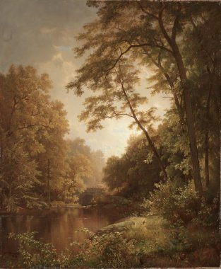 June Day | William Trost Richards | oil painting