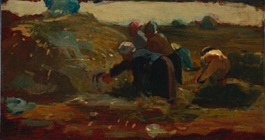 Women Working in a Field | Winslow Homer | oil painting