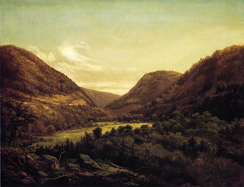 Horseshoe Bend 1876 | George Hetzel | oil painting