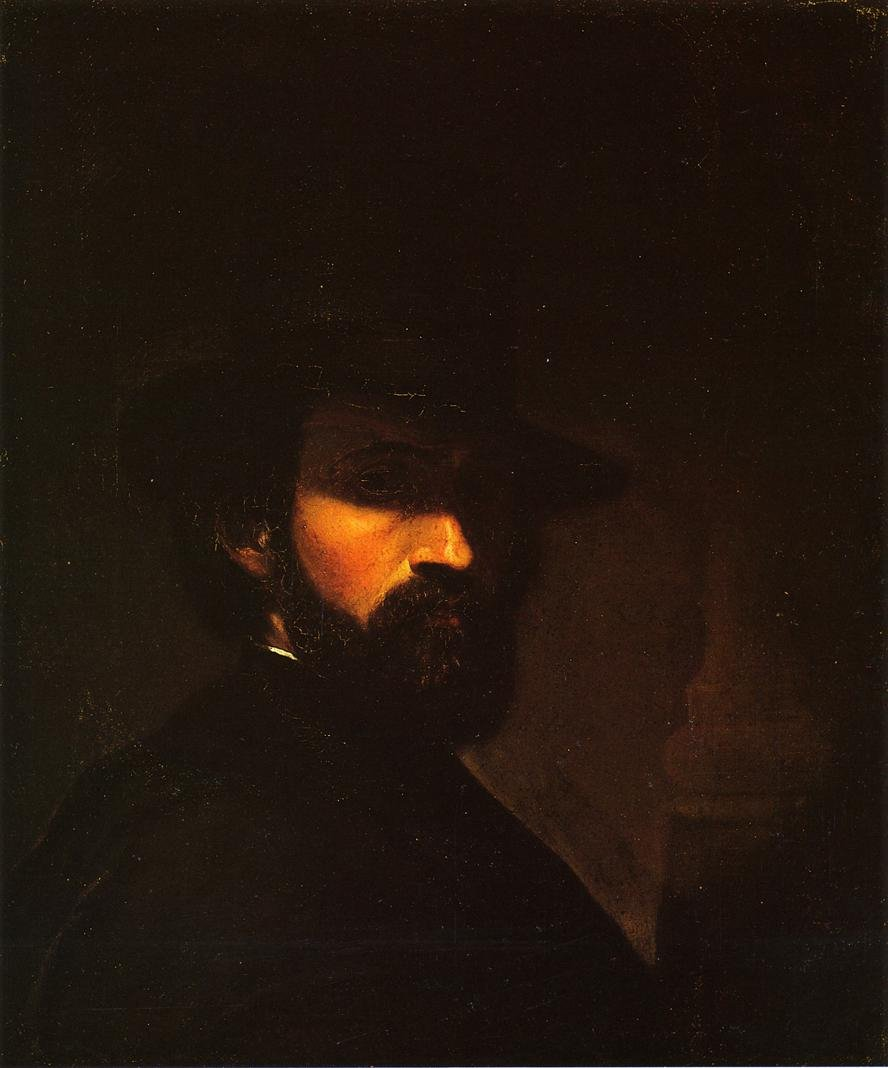 Self Portrait 1850 | George Hetzel | oil painting