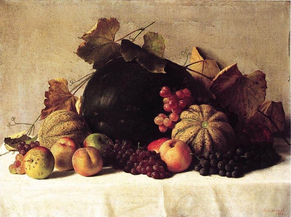 Still Life 1878 | George Hetzel | oil painting