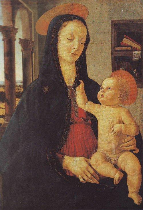 The Virgin And Child | Domenico Ghirlandaio | oil painting