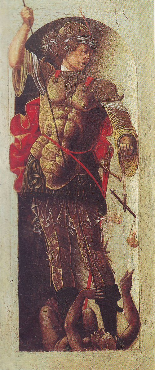 St Michael | Ercole De Roberti | oil painting