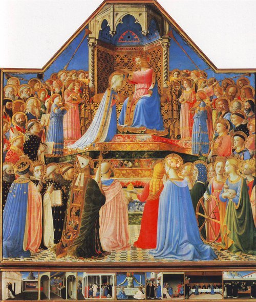 The Coronation Of The Virgin | Fra Angelico | oil painting
