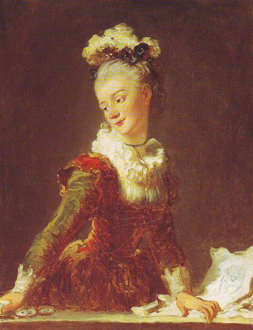 Marie-Madeleine Guimard | Fragonard | oil painting