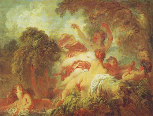 The Bathers | Fragonard | oil painting