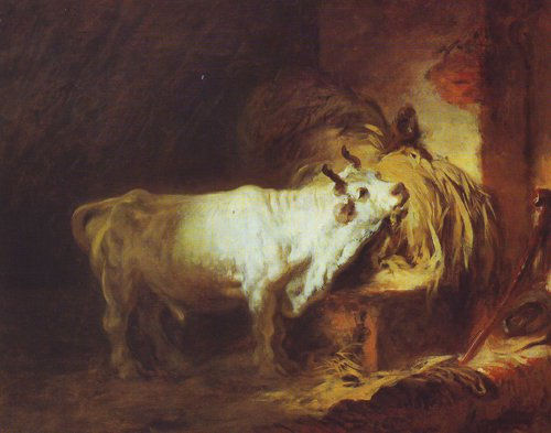 The White Bull | Fragonard | oil painting