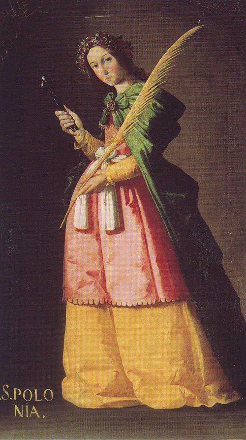 St Apollonia | Francisco De Zurbaran | oil painting