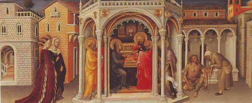 The Presentation At The Temple | Gentile Da Fabriano | oil painting