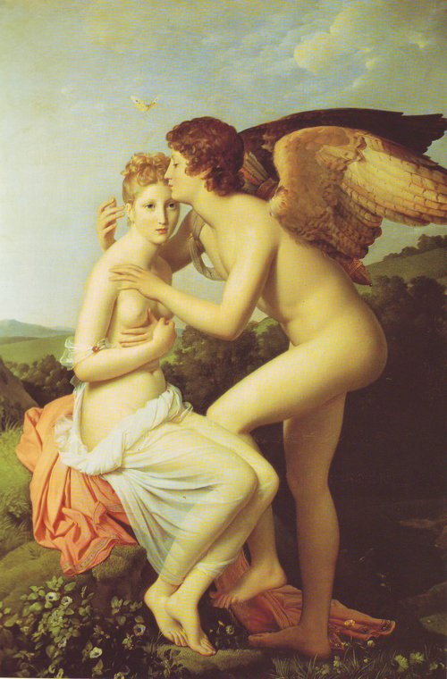 Amor And Psyche | Gerard | oil painting