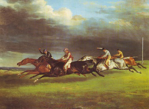 The Derby At Epsom In 1821 | Gericault | oil painting