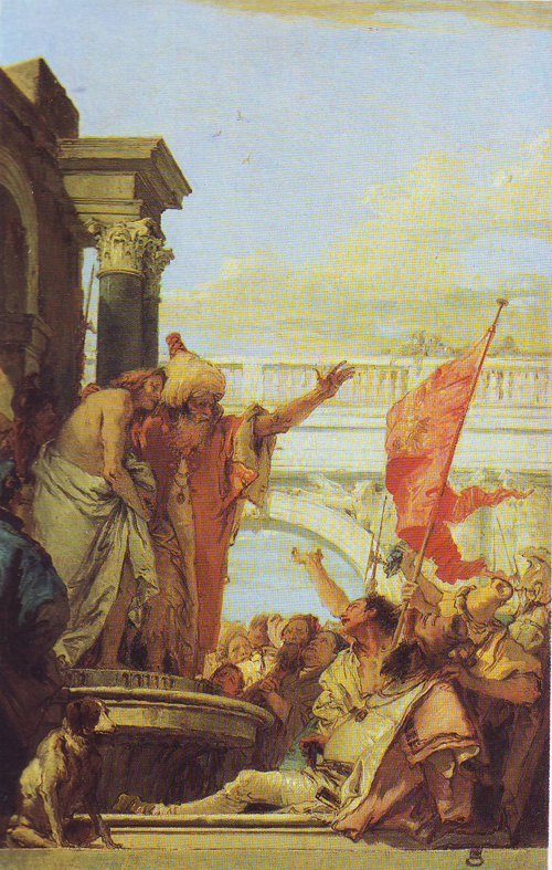 Presenting Christ To The People | Giovanni Battista Tiepolo | oil painting
