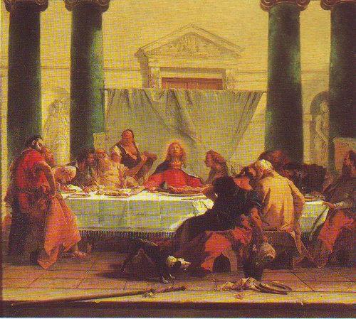 The Last Supper | Giovanni Battista Tiepolo | oil painting