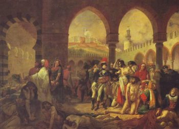 Bonaparte Visiting The Plague-Stricken At Jaffa On 11 March 1799 | Gros | oil painting