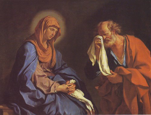 The Tears Of St Peter | Guercino | oil painting