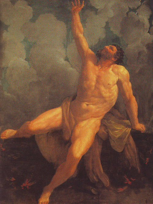 Hercules On The Pyre | Guido Reni | oil painting