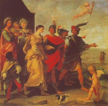 The Abduction Of Helen | Guido Reni | oil painting