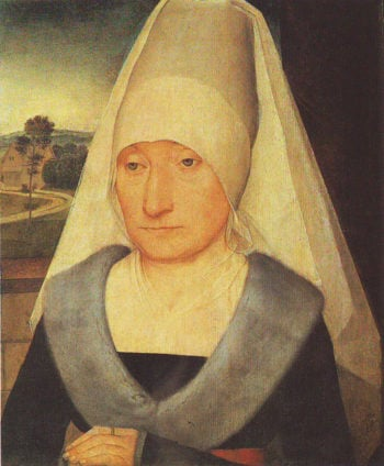 Portrait Of An Old Woman | Hans Memling | oil painting