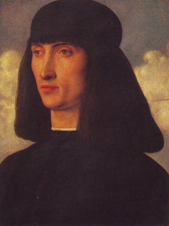 Portrait Of A Man | Giovanni Bellini | oil painting