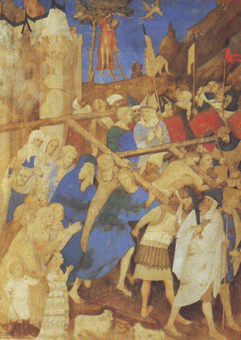 The Carrying Of The Cross   Jacquemart De Hesdin   oil painting