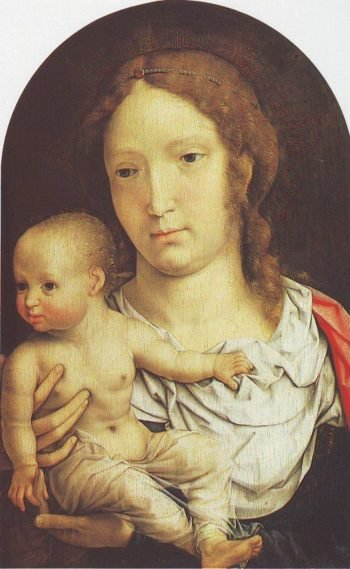 The Virgin And Child | Jan Gossaert | oil painting