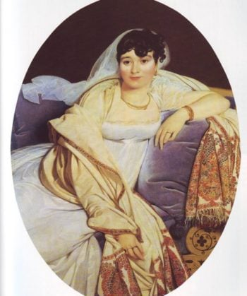 Madame Riviere   Jean Auguste Dominique Ingres   oil painting