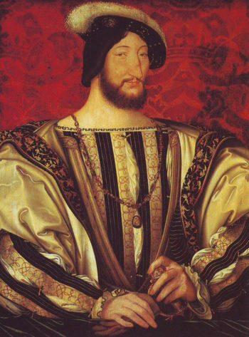 Francois I | Jean Clouet | oil painting
