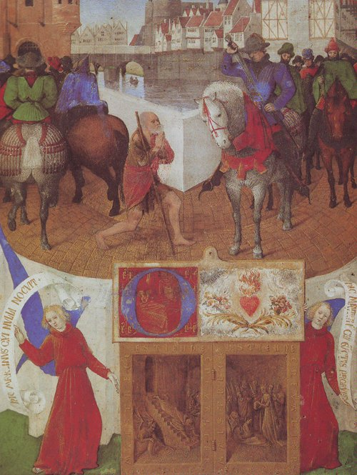 ST MARTIN | Jean Fouquet | oil painting