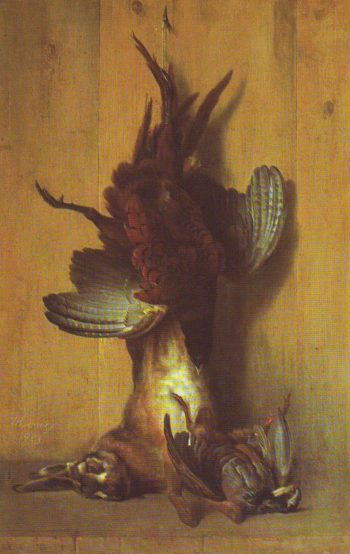 Still Life With A Pheasant | Jean-Baptiste Oudry | oil painting
