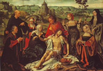 St Francis Receiving The Stigmata | Joos Van Cleve | oil painting