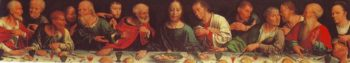 The Last Supper | Joos Van Cleve | oil painting