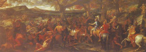 Alexander And Porus | Le Brun | oil painting