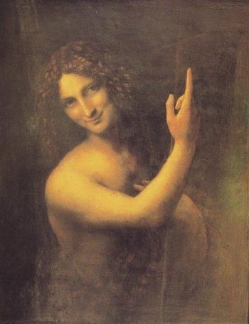 St John The Baptist | Leonardo | oil painting