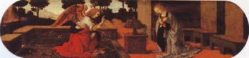 The Annunciation | Lorenzo Di Credi Or Leonardo Da Vinci | oil painting