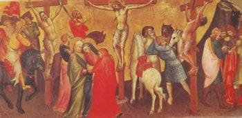 The Cruciixion | Lorenzo Monaco | oil painting