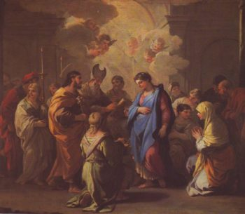 The Marriage O The Virgin | Luca Giordano | oil painting