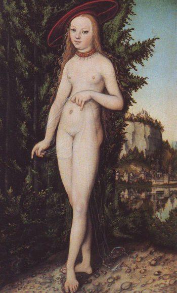 Venus In A Landscape | Lucas Cranach | oil painting