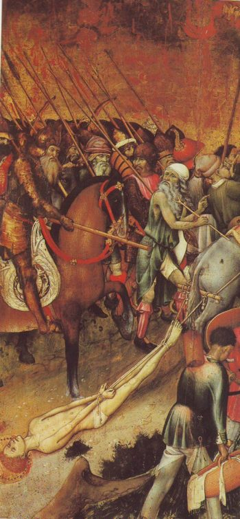 From The Legend Of St George | Martorell | oil painting