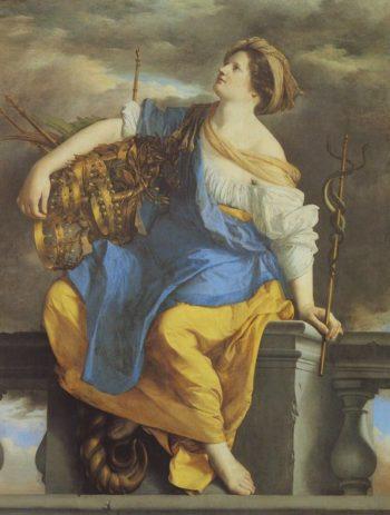 Public Felicity Surmounting Perils | Orazio Gentileschi | oil painting