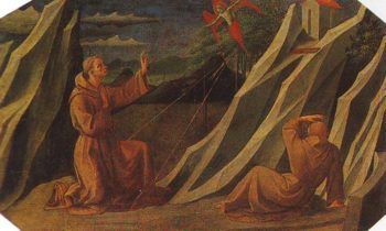 St Francis Receiving The Stigmata | Pesellino | oil painting