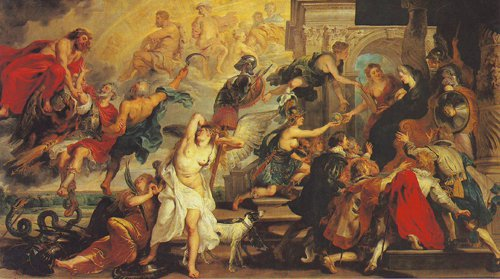 Apotheosis Of Henry IV   Peter Paul Rubens   oil painting