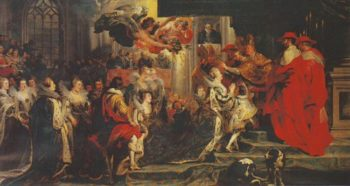 Coronation Of Marie De Medici | Peter Paul Rubens | oil painting