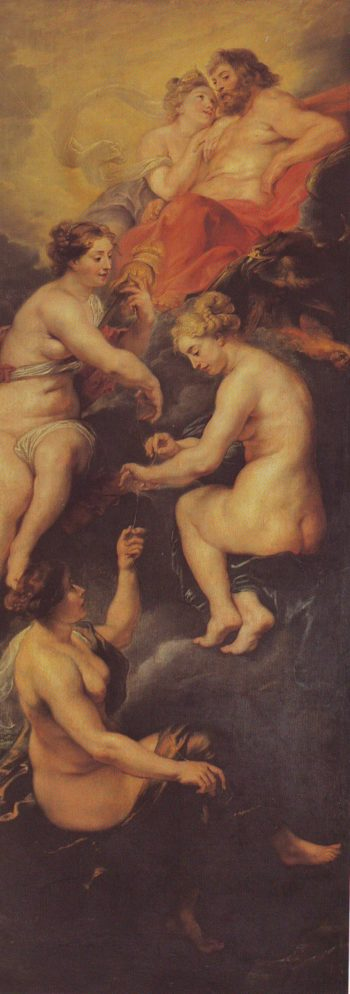 The Destinyof Marie De Medici | Peter Paul Rubens | oil painting