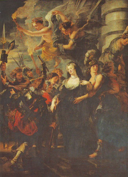 The Flight From Blois | Peter Paul Rubens | oil painting