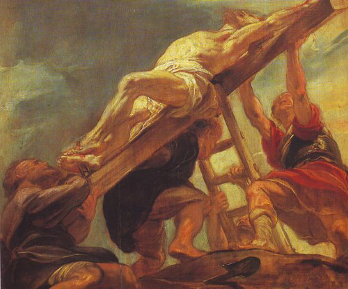 The Raising Of The Cross | Peter Paul Rubens | oil painting