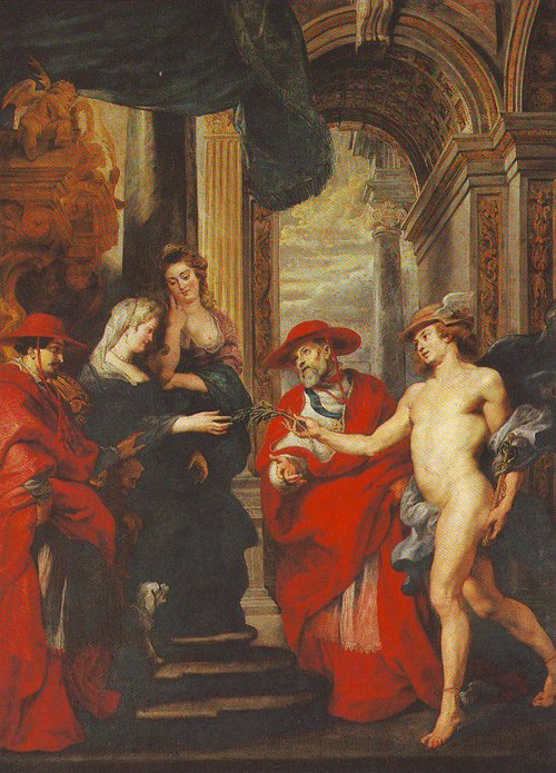 The Treaty Of Angouleme | Peter Paul Rubens | oil painting
