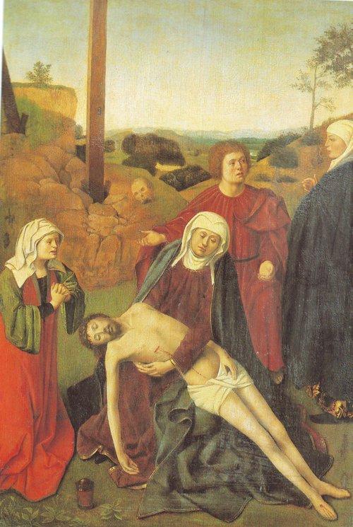 The Lamentation Of Christ | Petrus Christus | oil painting